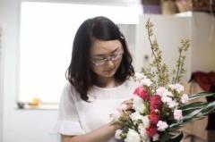 深圳艺术插花培训招生 享趣花艺 正规培训机构